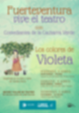 CARTEL FUERTEVENTURA VIVE EL TEATRO - LO