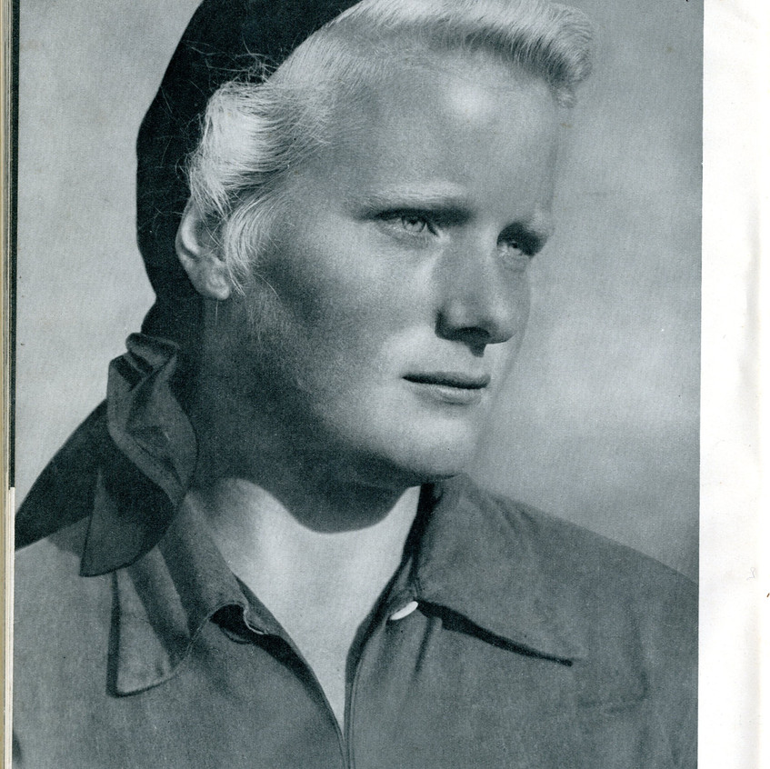 Photographer Hans Retzlaff (1904-1965). Reproduced in 'Friesland-Friezenland' (Hamer, 1942).