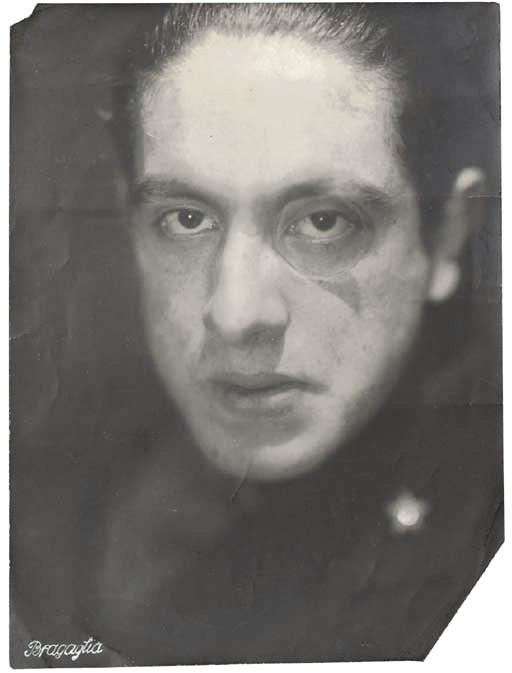 Anton Bragaglia, Portrait of Julius Evola, c.1918.