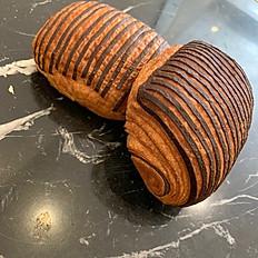 Bi-Color Giandula Chocolate Croissant