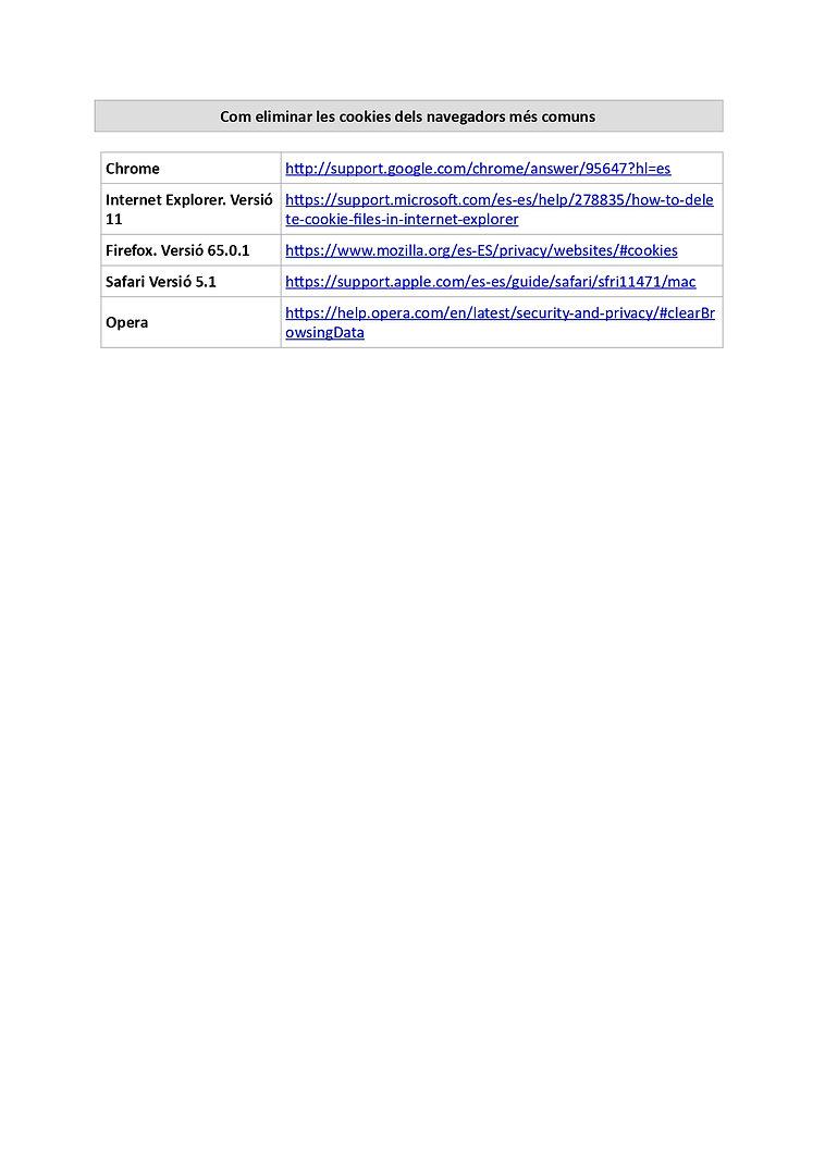 COOKIES UTILITZADES EN AQUEST LLOC WEB_p