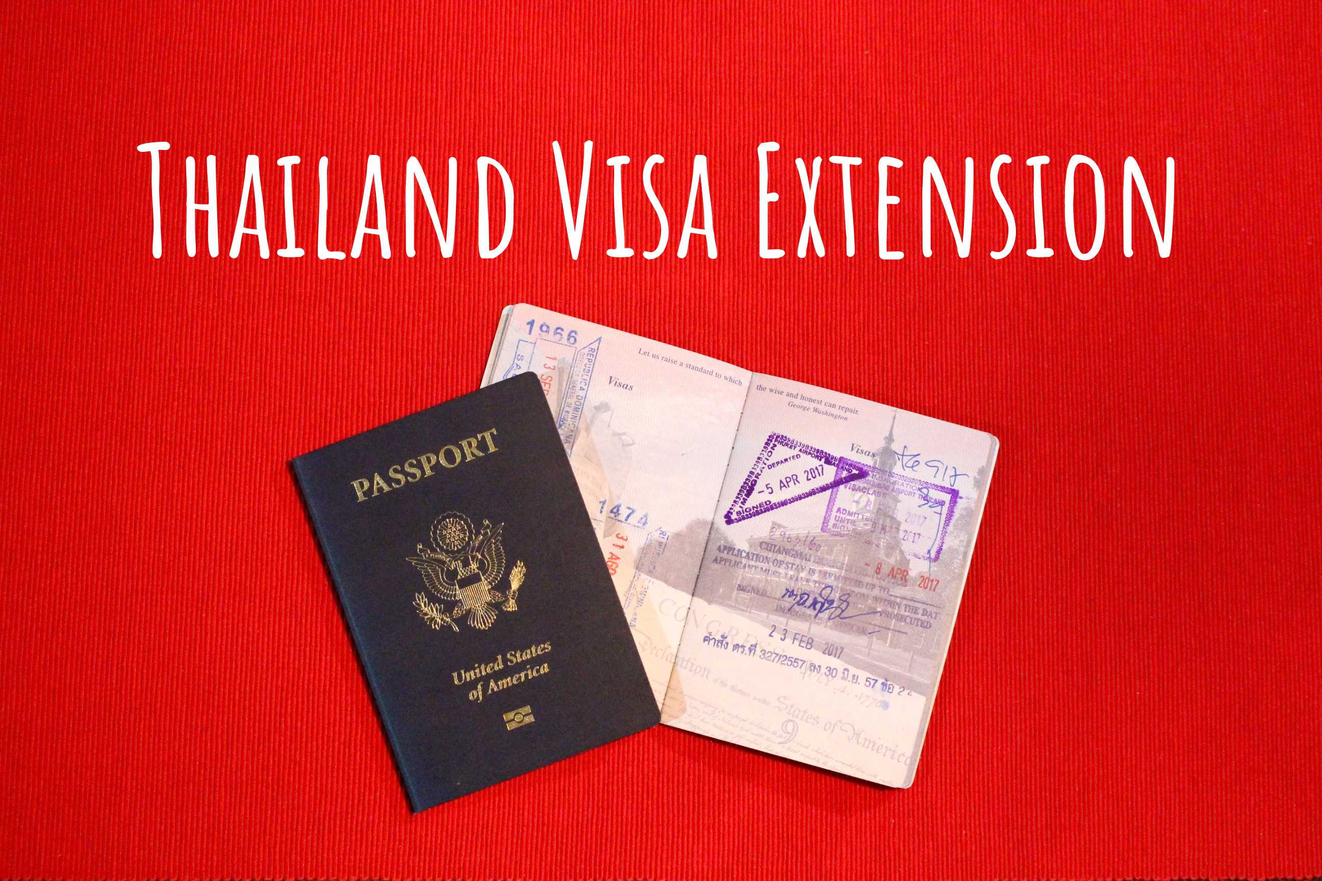 How To Apply For A 30day Tourist Visa Extension In Chiang Mai, Thailand