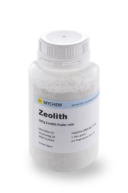 Zeolith - rein, fein