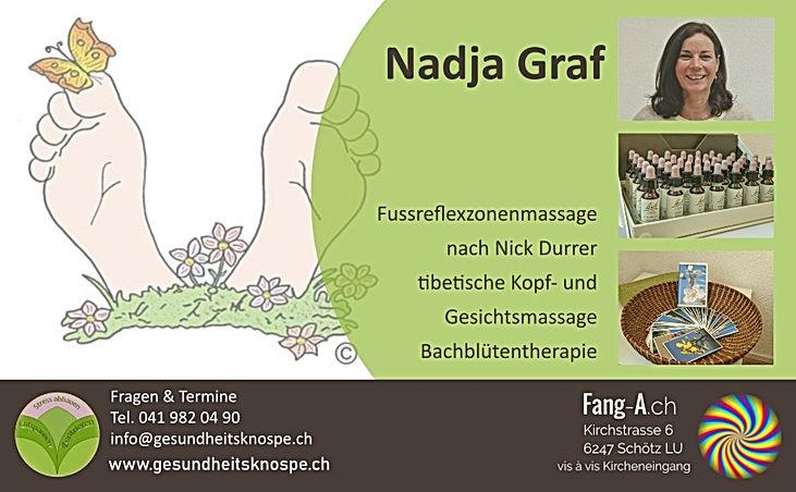 Nadja Graf Fussreflexzonen Bachblüten Fl