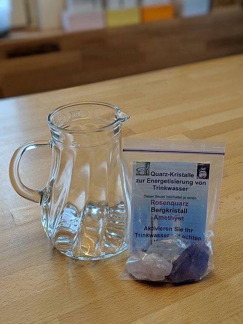 Kristalle - Wasser beleben