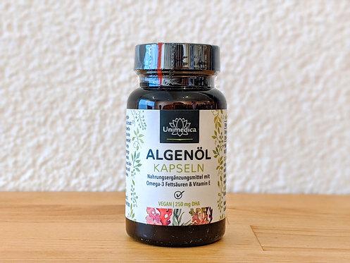 Omega 3 & Vitamin E - Algenöl