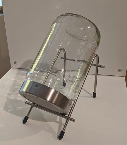 Keimglas / Keimgerät mit Edelstahlsieb 1700 ml