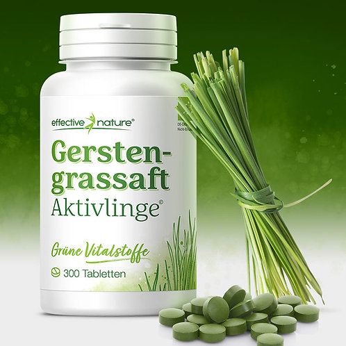 Gerstengrassaft - Tabletten