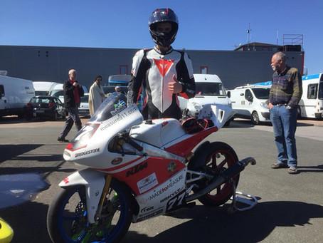 LUKAS WENDEBORN & MOTO3/GP125