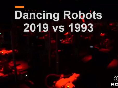 DANCING ROBOTS 2019 VS 1993