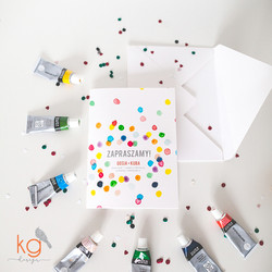 Akwarelowe konfetti