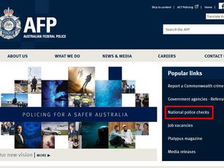 手把手教您申请AFP澳洲无犯罪证明
