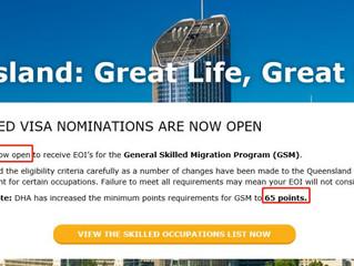 昆士兰州开放新财年申请,想知道除了EOI邀请加5分外的其他条件吗?绿洲已经帮你整理了!