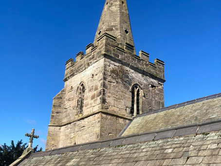 St Michael & All Angels, roof repairs