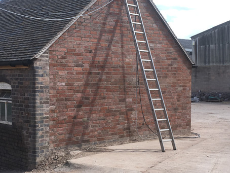 Rebuild of gable and new roof
