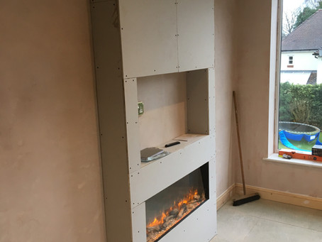 Fire place to stay warm