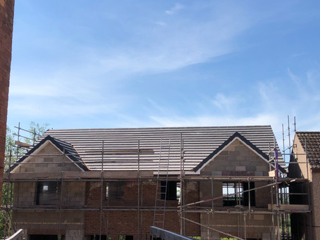 New roof on 2 new builds