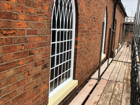Repairs to a church in Atherstone