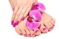 Express manicure & pedicure