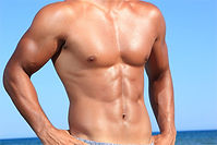 Male chest & stomach waxing - Sugaring