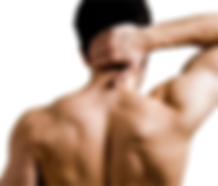 Male neck shoulder & full body waxing - Sugaring
