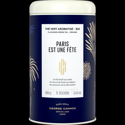 The vert bio- PARIS EST UNE FETE-Boite de 100 g