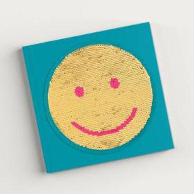 Carnet à sequins réversibles -Emojie