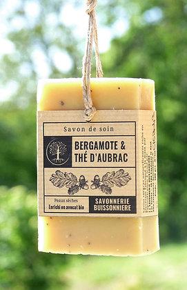 Savon Bio et Vegan - Bergamote & Thé d'Aubrac