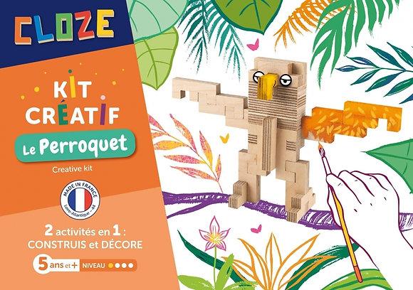 Kit Créatif Perroquet