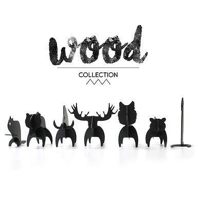Les Animaux de la forêt en carton - 7 figurines à construire