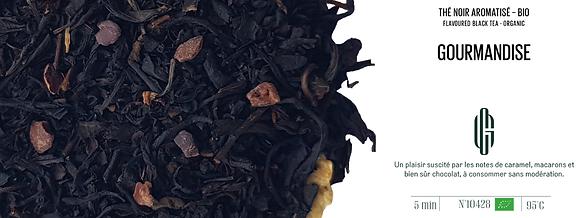 Thé noir Bio - Gourmandise - Vrac 100G