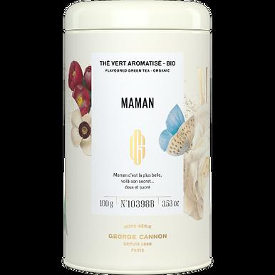 Thé vert bio - MAMAN - Boite de 100G