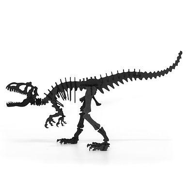 Tyrannosaure en carton - A construire