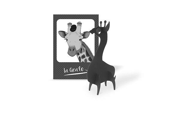Carte cadeau Girafe - A construire