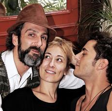 Ernesto Alterio Nathalie Poza  Asier Etxeandia Actores