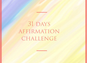 31 Day Affirmation Challenge
