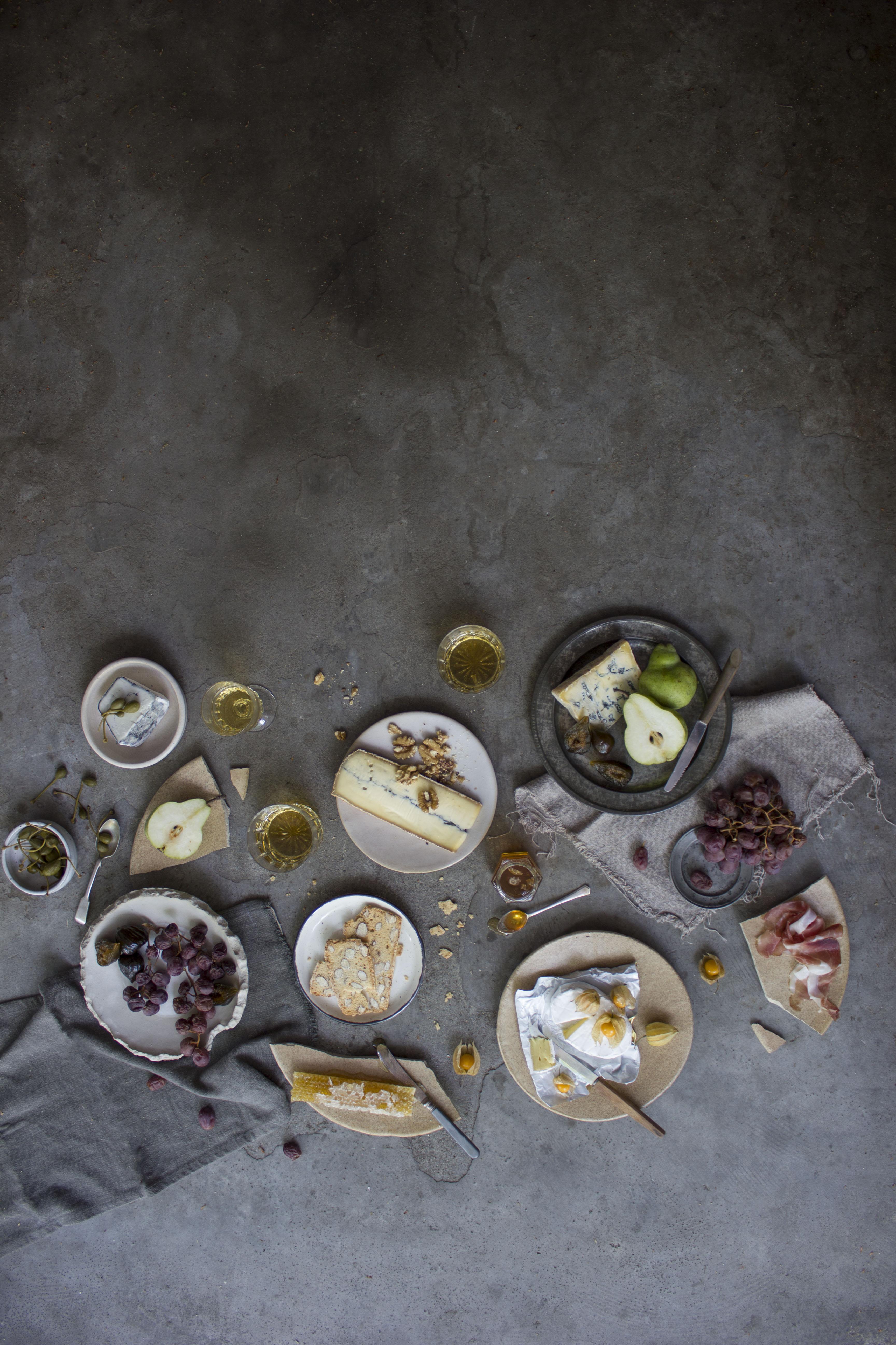 Deconstructed Cheese Platter