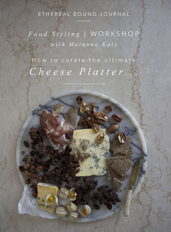 Food Styling - Cheese Platter WORKSHOP a