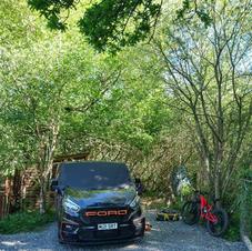Campervan pitch