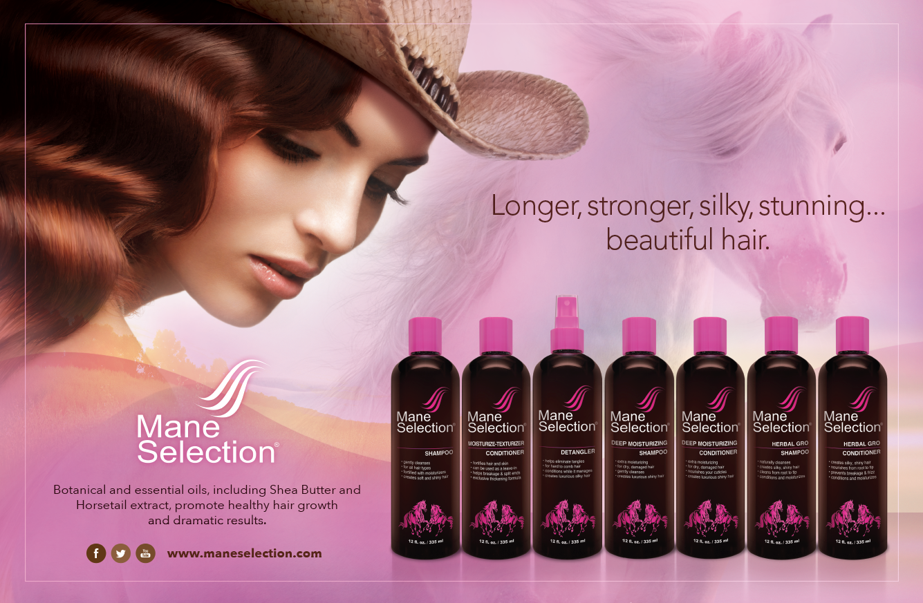 MANE SELECTION  |  2 pg ad
