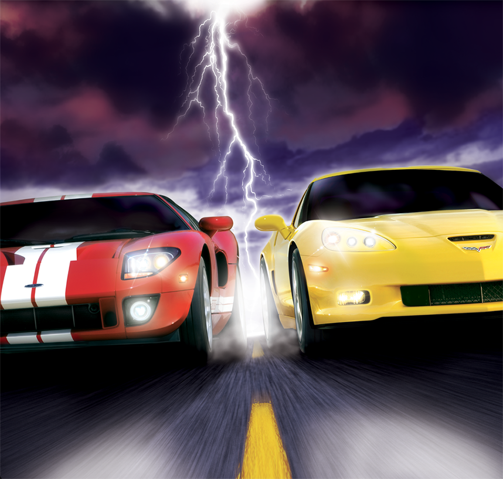 ford vs chevy  |  playstation