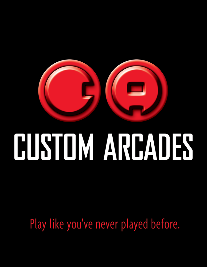 Custom Arcades | logo design