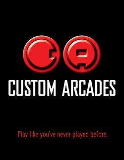 Custom Arcades | logo design