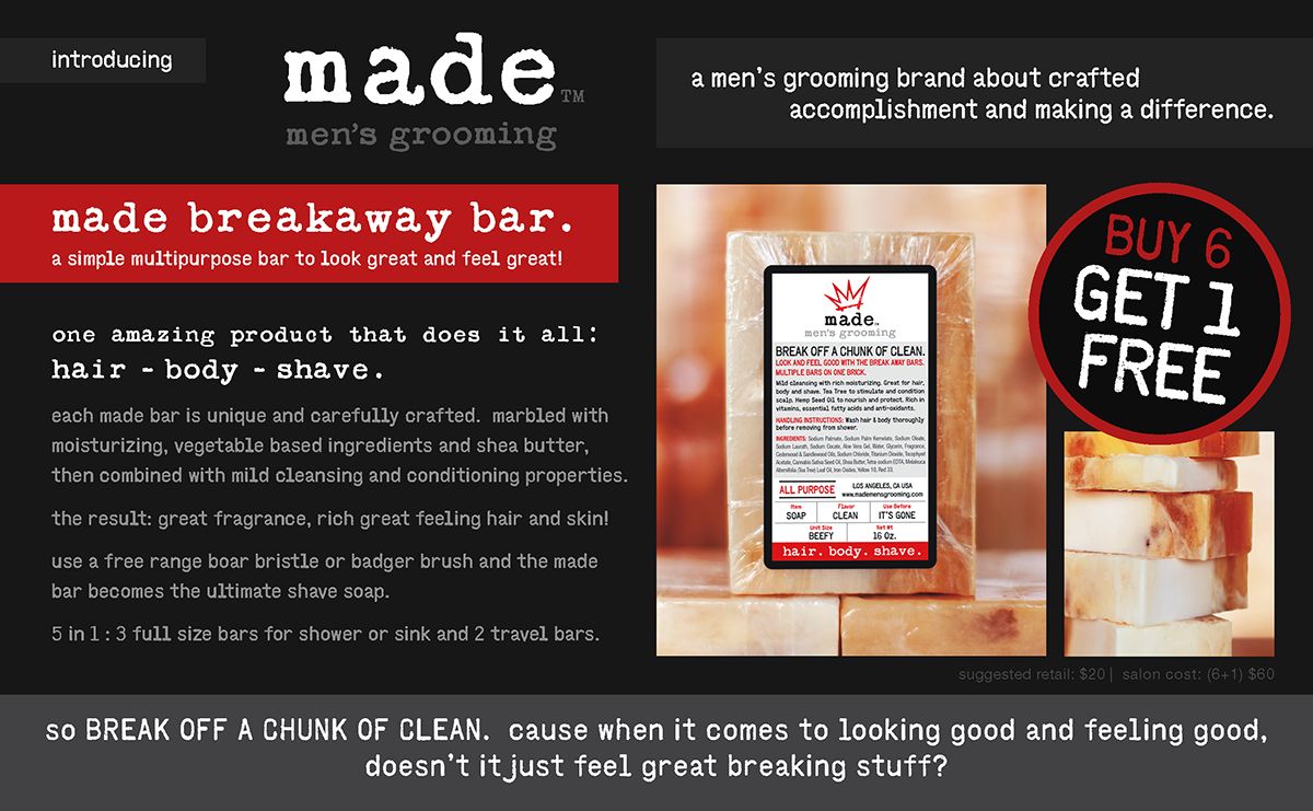 MADE  |  breakaway bar ad