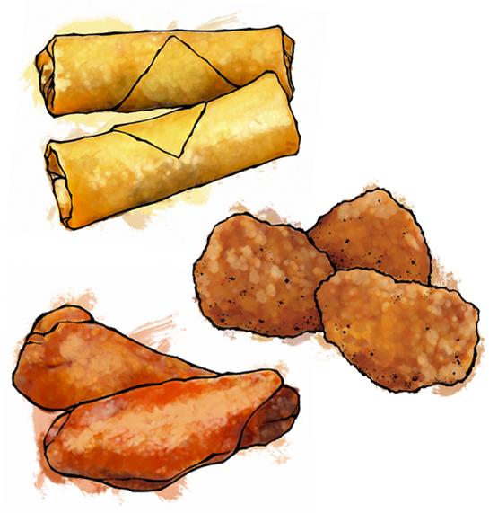 food illustrations  |  lee kum kee