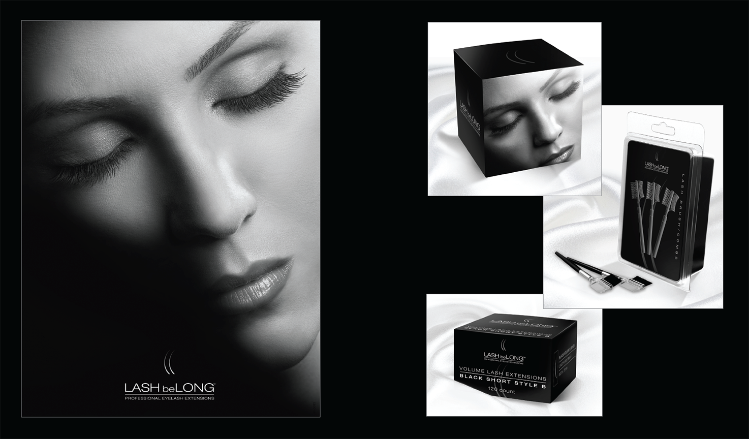LASH beLONG  |  marketing/packaging