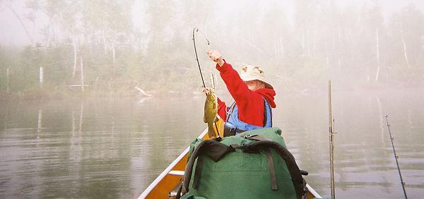BWCA Fishing & Fall Lake fishing.