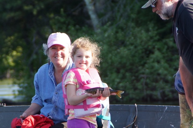 Evelyn Hoeft June 2015: BWCA fishing