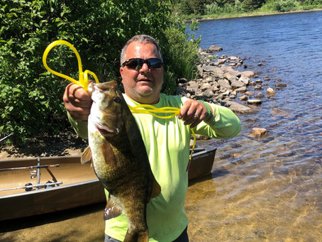 Fall Lake Fishing Report for July 9th