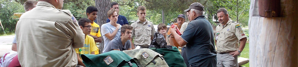 Packsack, BWCA outfitters to The Boy Scouts of America.